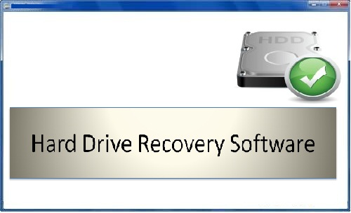 Hard Drive Recovery Software full screenshot
